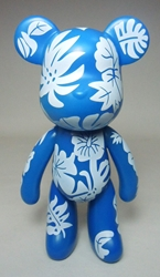 Popobe 5 inch Lovely Frosty Foliage Bear Popobe, Popobe Bear, Action Figures, 2010, vinyl
