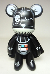 Popobe 5 inch Dark Side Darth-bear-der Popobe, Popobe Bear, Action Figures, 2010, vinyl