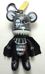 Popobe 5 inch Dark Side Darth-bear-der (keychain) Popobe, Popobe Bear, Keychains, 2010|Color~black, vinyl