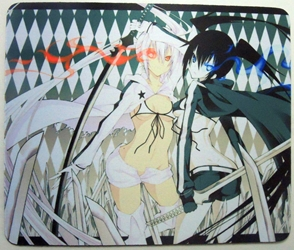 Anime mouse pad - Black Rock Shooter girls China, Black Rock Shooter, Mouse Pads, 2013, anime, japan