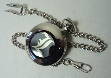 Death Note - Pocket watch with chain China, Death Note, Watch, 2013|Color~silver|Color~black, anime, japan