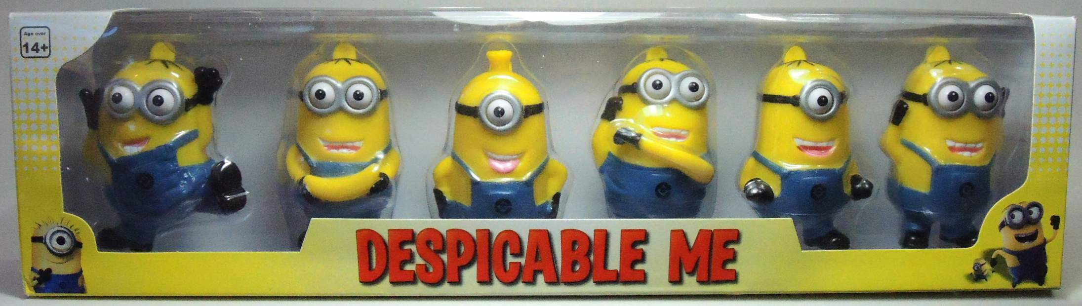 Despicable Me - Minions 6-pack Boxed Set Tideway, Despicable Me, Action Figures, 2013, animated, movie