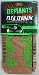Defiants Flex Terrain (double-sided) - brown RedwoodVentures, Defiant, Action Figures, 2011, sports