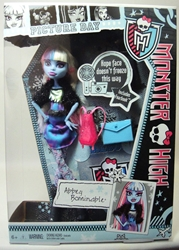 Monster High Picture Day 11 inch doll - Abbey Bominable Mattel, Monster High, Dolls, 2012, teen, fashion, movie