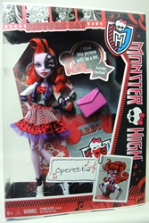 Monster High Picture Day 11 inch doll - Operetta Mattel, Monster High, Dolls, 2012, teen, fashion, movie