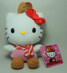 Hello Kitty 6 inch plush - Helly Kitty with Antlers Jakks, Hello Kitty, Plush, 2013, animated, japan