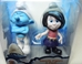 Smurfs - 2.5 inch figures 2-pack Grouchy & Vexy - 7057-7070CCCFFG