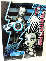 Monster High Ghouls Alive! - Frankie Stein Mattel, Monster High, Dolls, 2012, teen, fashion, movie