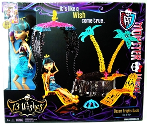 Monster High 13 Wishes - Party Lunge with Spectra V Mattel, Monster High, Dolls, 2013, teen, fashion, movie