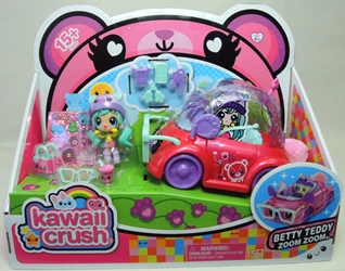 Kawaii Crush - Betty Teddy Zoom Zoom (car+fig)