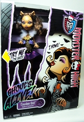 Monster High Ghouls Alive! Clawdeen Wolf Mattel, Monster High, Dolls, 2013, teen, fashion, movie
