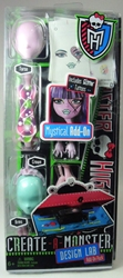 Monster High Create-a-Monster Design Lab Add-on - Mystical Mattel, Monster High, Dolls, 2012, teen, fashion, movie