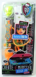 Monster High Create-a-Monster Design Lab Add-on - Nocturnal Mattel, Monster High, Dolls, 2012, teen, fashion, movie