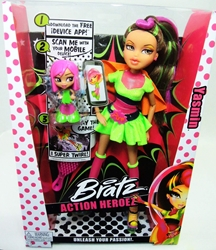 Bratz Action Heroez Yasmin 12 inch MGA, Bratz, Dolls, 2013, fashion, toy