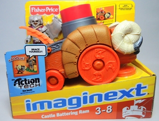 Fisher-Price Imaginext - Castle Battering Ram Fisher-Price, Imaginext, Preschool, 2012, adventure