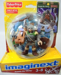 Fisher-Price Imaginext - Axemin the Viking Fisher-Price, Imaginext, Preschool, 2012, adventure