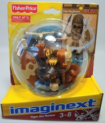 Fisher-Price Imaginext - Tiger the Hunter Fisher-Price, Imaginext, Preschool, 2012, adventure