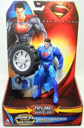 Superman Man of Steel 6 inch figure - Wheel Wrercker Superman Mattel, Superman, Action Figures, 2013, superhero, comic book
