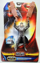 Superman Man of Steel 6 inch figure - Dual Destruction General Zod Mattel, Superman, Action Figures, 2013, superhero, comic book