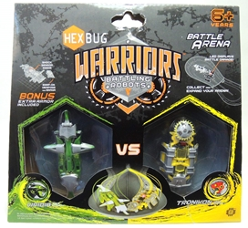 Hex Bug Warriors - Viridia vs Tronikon Innovation First, Hex Bug, Action Figures, 2013, robots