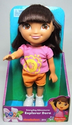 Dora The Explorer Everyday Adventures 9 inch doll Fisher-Price, Dora the Explorer, Preschool, 2012, animated, tv show