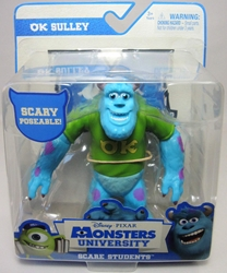 Monsters University Scare Students OK Sulley Spin Master, Monsters University, Action Figures, 2013, kidfare, movie