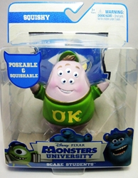 Monsters University Scare Students Squishy Spin Master, Monsters University, Action Figures, 2013, kidfare, movie