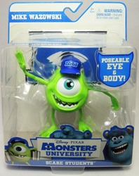 Monsters University Scare Students Mike Wazowski Spin Master, Monsters University, Action Figures, 2013, kidfare, movie
