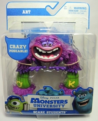 Monsters University Scare Students Art Spin Master, Monsters University, Action Figures, 2013, kidfare, movie