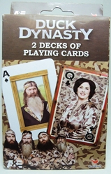 Duck Dynasty - 2 Decks of Playing Cards Cardinal, Duck Dynasty, Games, 2013, comedy, tv show