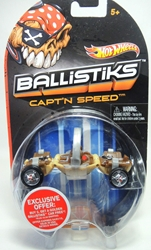 Hot Wheels Ballistiks vehicle - Captn Speed Mattel, Ballistiks, Action Figures, 2012