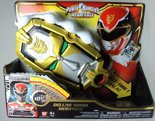 Power Rangers MegaForce - Deluxe Gosei Morpher Bandai, Power Rangers, Action Figures, 2013, scifi, tv show