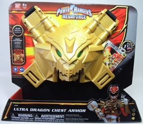 Power Rangers MegaForce - Ultra Dragon Chest Armor Bandai, Power Rangers, Action Figures, 2013, scifi, tv show