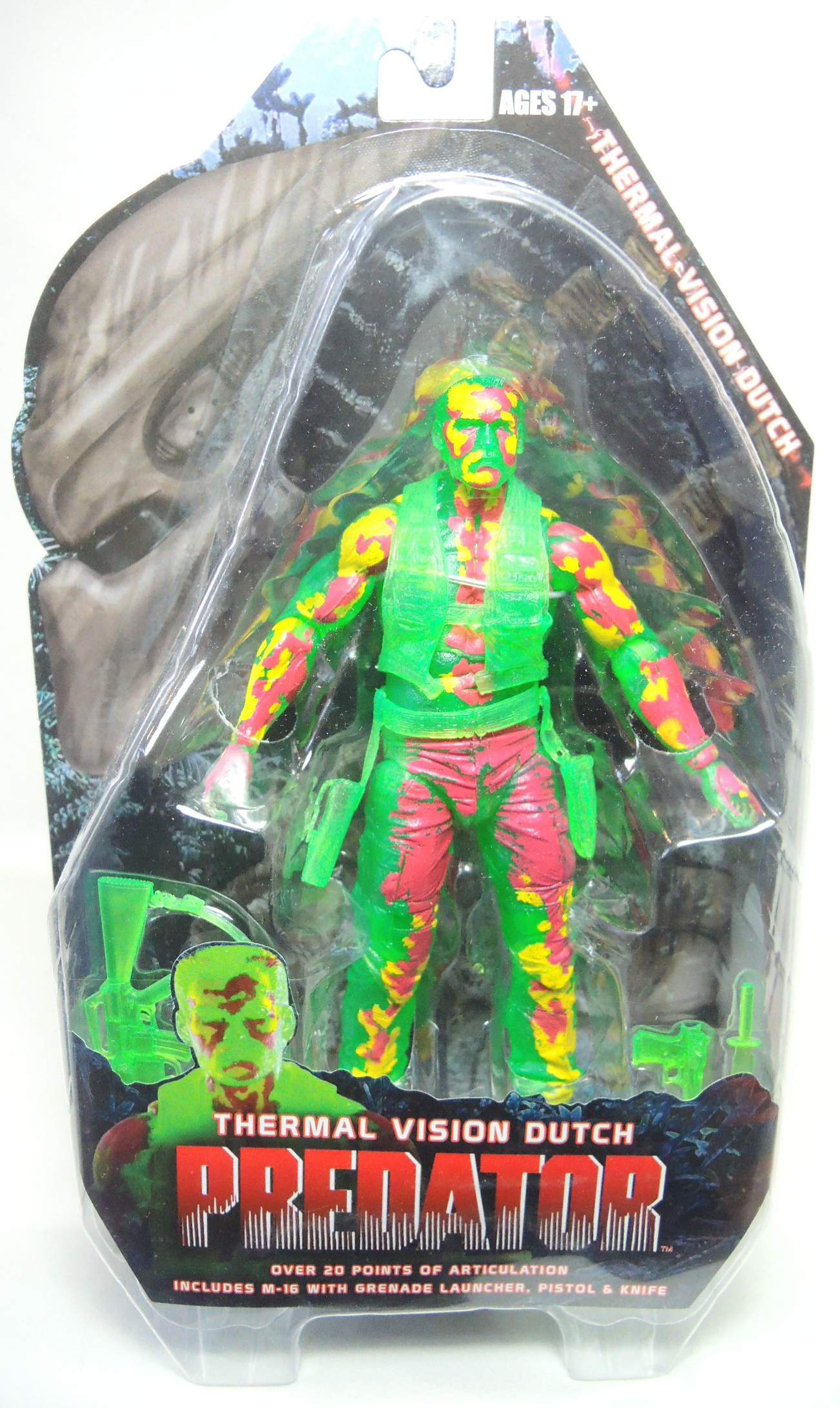 NECA Predator Series 11 - Thermal Vision Dutch 7 inch figure NECA, Predators, Scifi, 2014, scifi, movie
