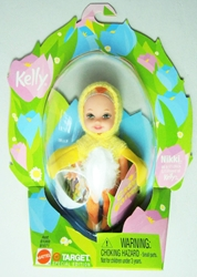 Barbie Kelly Easter - Nikki in Lil Chick Costume