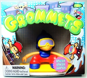 Grommets 2.6 inch Figure - Marky Parks (blue ski hat) Ronin Syndicate, Grommets, Action Figures, 2013, sports