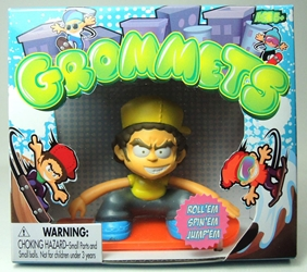 Grommets 2.6 inch Figure - Paul Walls (yellow shirt) Ronin Syndicate, Grommets, Action Figures, 2013, sports