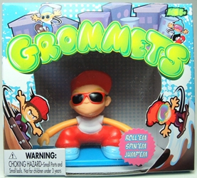 Grommets 2.6 inch Figure - Ricky Rails (red cap) Ronin Syndicate, Grommets, Action Figures, 2013, sports