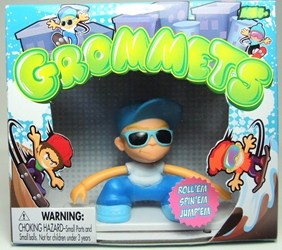 Grommets 2.6 inch Figure - Ricky Rails (blue cap) Ronin Syndicate, Grommets, Action Figures, 2013, sports