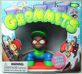 Grommets 2.6 inch Figure - Benny Banks (green cap) Ronin Syndicate, Grommets, Action Figures, 2013, sports