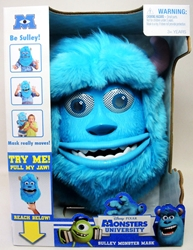 Monsters University - Sulley Monster Mask Spin Master, Monsters University, Action Figures, 2013, kidfare, movie