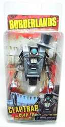 NECA Borderlands Gentleman Caller Claptrap CL4P-TP NECA, Borderlands, Action Figures, 2014, scifi, video game