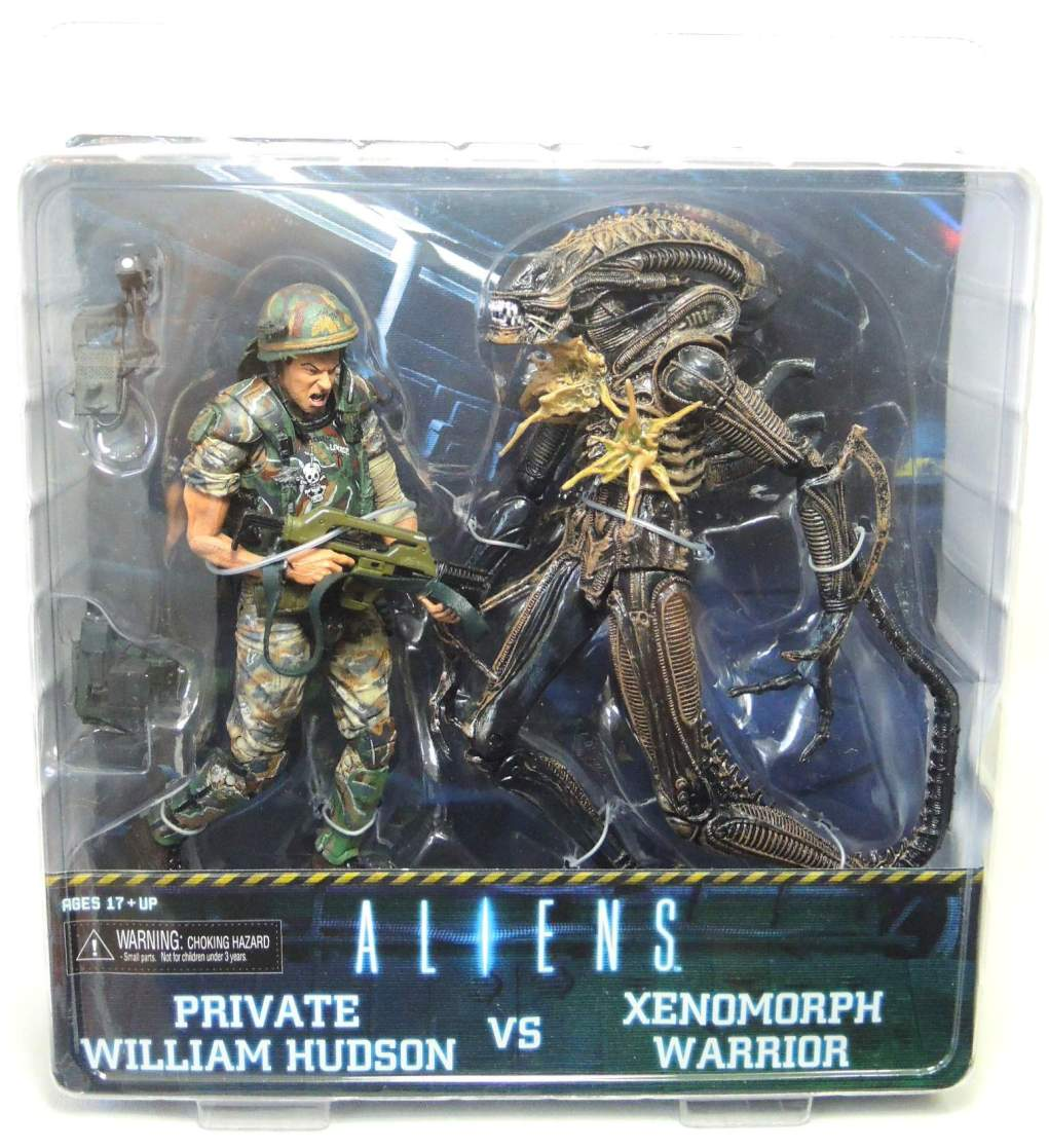 NECA Aliens 2-pack Private Hudson vs Xenomorph Warrior