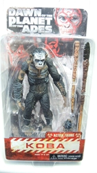 NECA Dawn Planet of the Apes Series 1 Koba NECA, Planet of the Apes, Action Figures, 2014, scifi, movie