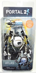 NECA Portal 2 Atlas figure with LEDs NECA, Portal, Action Figures, 2014, scifi, video game