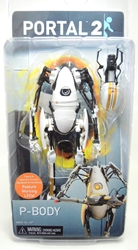 NECA Portal 2 P-Body figure with LEDs NECA, Portal, Action Figures, 2014, scifi, video game
