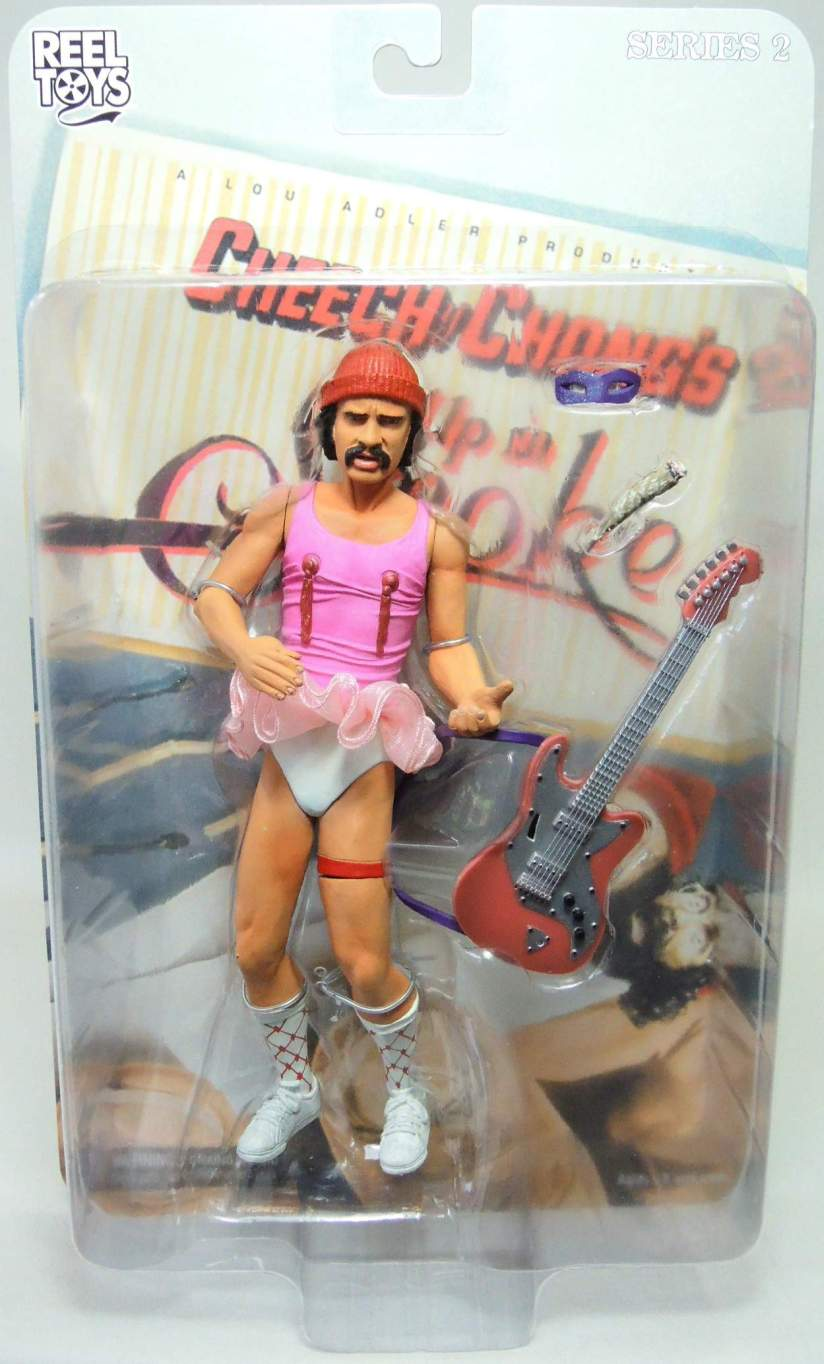 NECA Cheech & Chong Up In Smoke Series 2 Cheech figure NECA, Cheech & Chong, Action Figures, 2003, comedy, movie