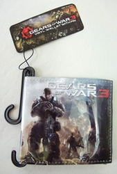 NECA Gears of War 3 Vinyl Wallet NECA, Gears of War, Action Figures, 2005, scifi, video game