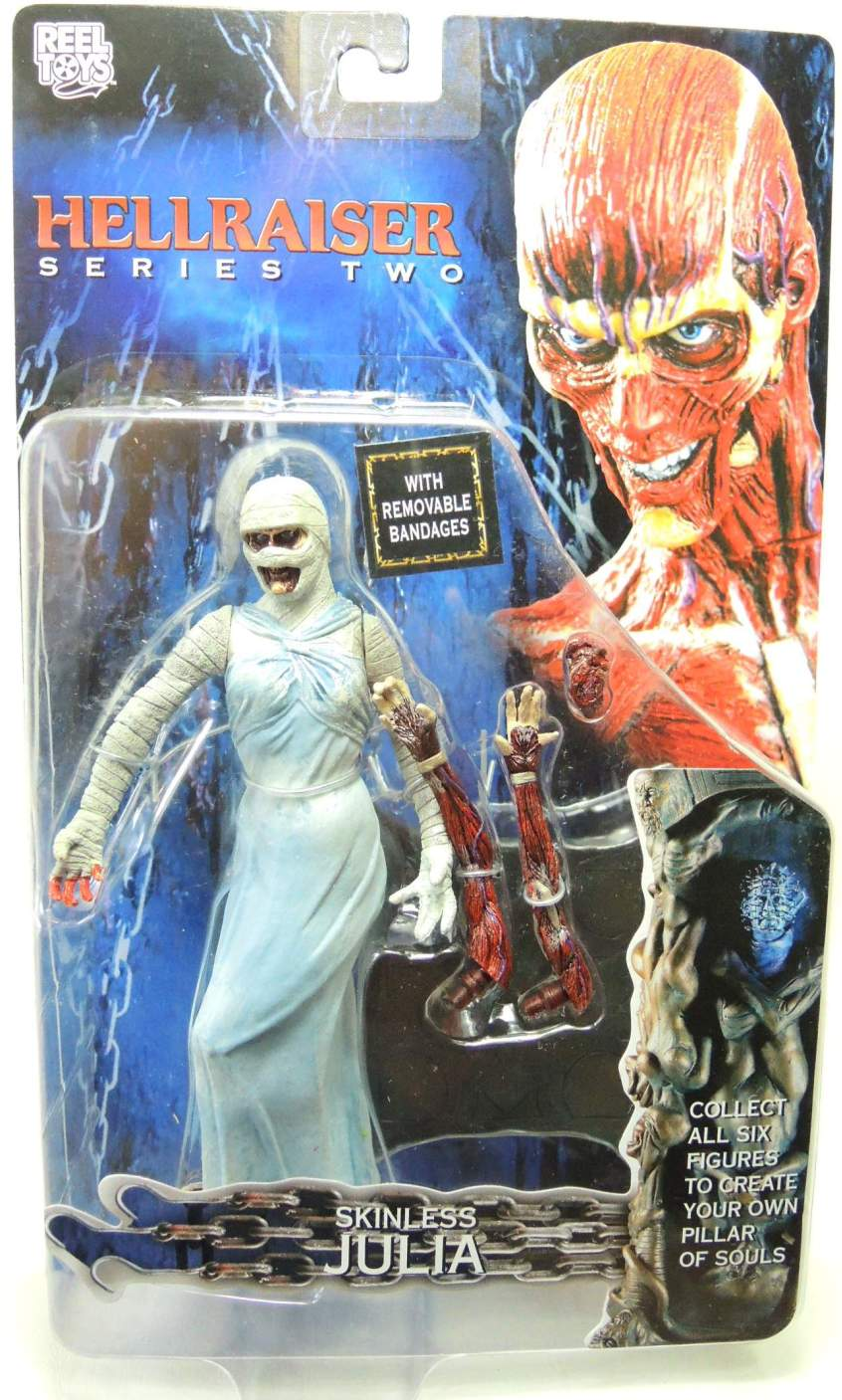 NECA Hellraiser Series 2 Skinless Julia figure NECA, Hellraiser, Action Figures, 2003, horror, halloween, movie