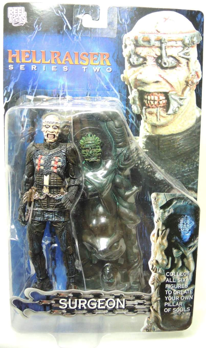 NECA Hellraiser Series 2 Surgeon 7 inch NECA, Hellraiser, Action Figures, 2003, horror, halloween, movie